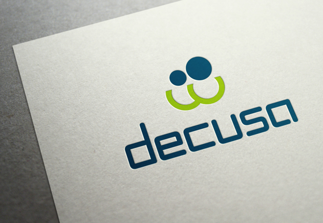 decusa, Corporate Design, Logo Close-Up
